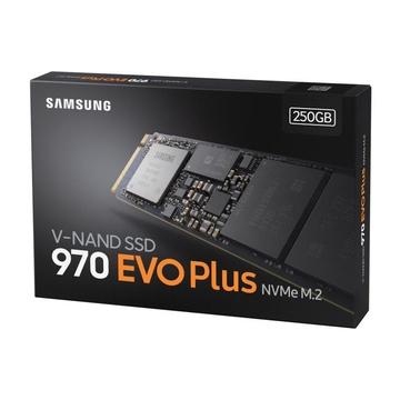 Samsung 970 Evo Plus M.2 SSD 250GB PCI Express 3.0 V-NAND MLC NVMe