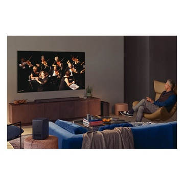 """Samsung QE85QN900A Series 9 TV Neo QLED 8K 85"""" Smart TV Wi-Fi Stainless Steel 2021"""
