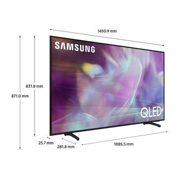 """Samsung Series 6 TV QLED 4K 65"""" QE65Q60A Smart TV Wi-Fi 2021 Nero"""
