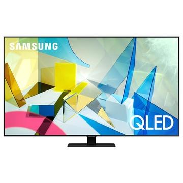 """Samsung Series 8 QE75Q80TAT 75"""" 4K Ultra HD Smart TV Wi-Fi Nero, Argento"""