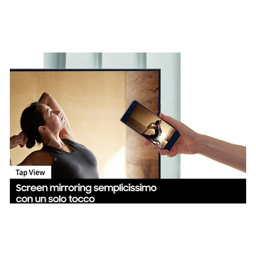 """Samsung Series 8 TV Crystal UHD 4K 75"""" UE75AU8070 Smart TV Wi-Fi 2021 Black"""