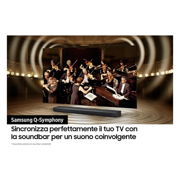 """Samsung Series 8 TV Neo QLED 8K 65"""" QE65QN800A Smart TV Wi-Fi Stainless Steel 2021"""