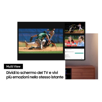 """Samsung Series 8 TV Neo QLED 8K 85"""" QE85QN800A Smart TV Wi-Fi Stainless Steel 2021"""