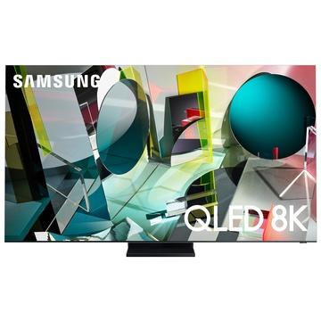 "Samsung Series 9 QE85Q950TST 85"" 8K Ultra HD Smart TV Wi-Fi Nero, Acciaio inossidabile"
