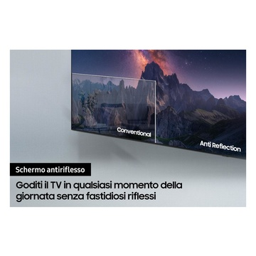 """Samsung Series 9 TV Neo QLED 8K 75"""" QE75QN900A Smart TV Wi-Fi Stainless Steel 2021"""