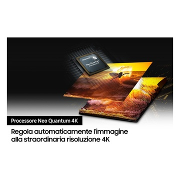 """Samsung TV Neo QLED 4K 50"""" QE50QN90A Smart TV Wi-Fi Titan Black 2021"""