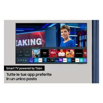 "Samsung TV QLED 4K 75"" QE75Q70A Smart TV Wi-Fi 2021 Grigio"