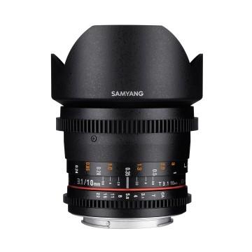 Samyang 10mm t/3.1 VDSLR II ED AS NCS CS Canon
