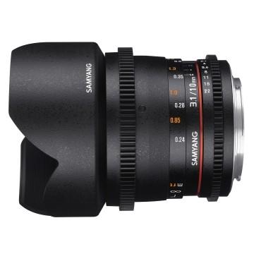 Samyang 10mm t/3.1 VDSLR II ED AS NCS CS Nikon