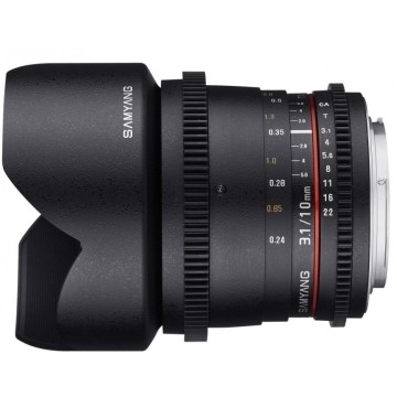 Samyang 10mm t/3.1 VDSLR II ED AS NCS CS Sony