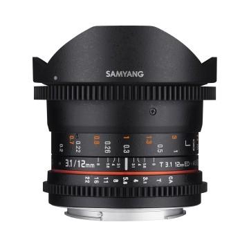 Samyang 12mm t/3.1 VDSLR Fish-eye Nikon