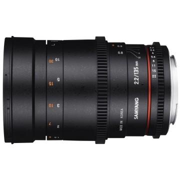 Samyang 135mm t/2.2 VDSLR Nikon