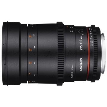 Samyang 135mm t/2.2 VDSLR Sony E-Mount
