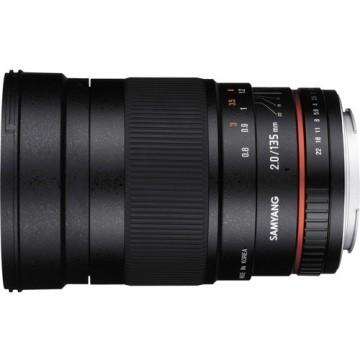Samyang 135mm f/2.0 Fuji X ED UMC