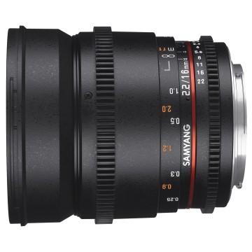 Samyang 16mm t/2.2 VDSLR II Nikon