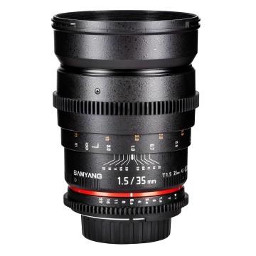Samyang 35mm t/1.5 VDSLR AS UMC II Nikon