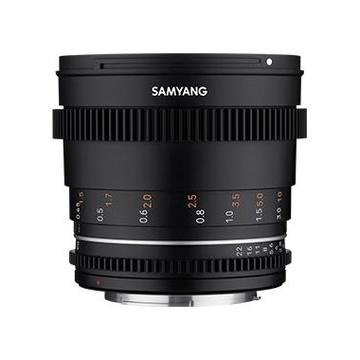 Samyang 50mm t/1.5 II Canon M