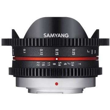 Samyang 7,5mm t/3.8 VDSLR UMC Fish-eye MFT