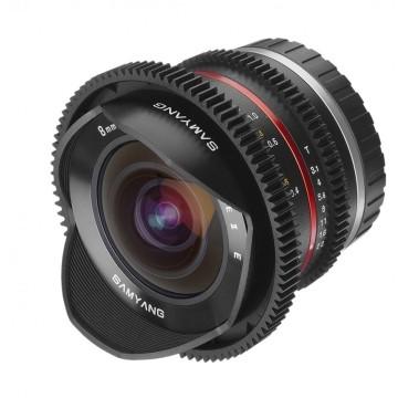 Samyang 8mm t/3.1 VDSLR UMC Fish-eye CS II Fuji X