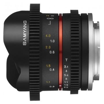 Samyang 8mm t/3.1 VDSLR UMC Fish-eye CS II Sony E-Mount