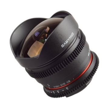 Samyang 8mm t/3.8 VDSLR UMC CSII Nikon