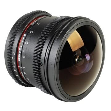 Samyang 8mm t/3.8 VDSLR UMC CSII Sony E-Mount