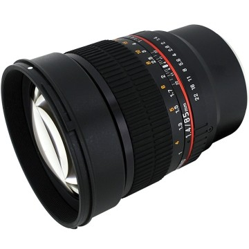 Samyang 85mm f/1.4 Sony E-Mount IF UMC