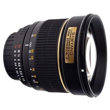 Samyang 85mm f/1.4 Fuji X IF UMC