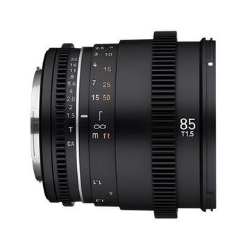 Samyang 85mm t/1.5 VDSLR II Canon RF