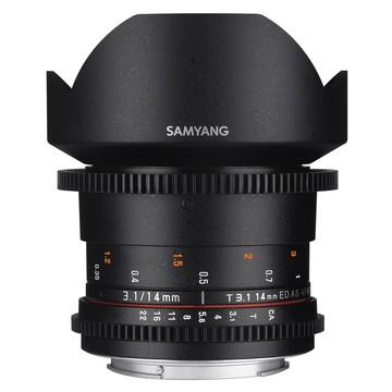 Samyang 14mm t/3.1 VDSLR ED AS IF UMC Sony E-Mount