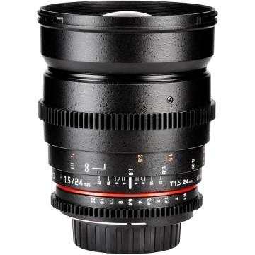 Samyang 24mm t/1.5 VDSLR ED AS IF UMC Sony