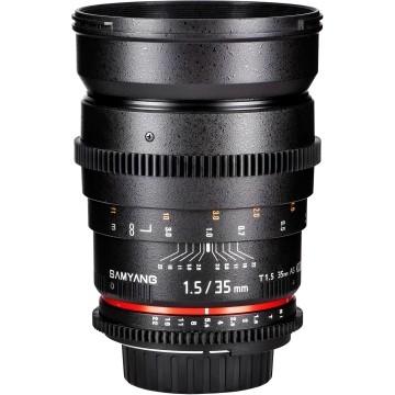 Samyang 35mm f/1.5 VDSLR AS IF UMC II Pentax
