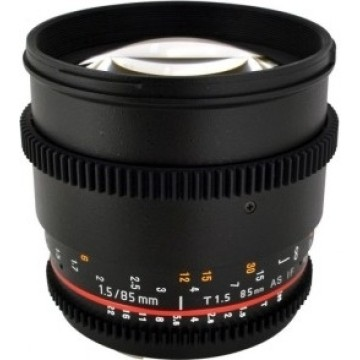 Samyang 85mm t/1.5 VDSLR AS IF UMC II Nikon
