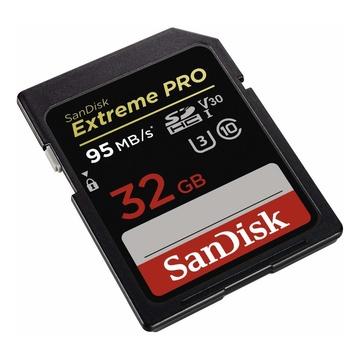 SanDisk 32GB Extreme Pro SDHC 95MB/s V30 U3 Classe 10