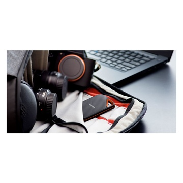 SanDisk SDSSDE81-4T00-G25 Extreme PRO 4000 GB Nero, Arancione