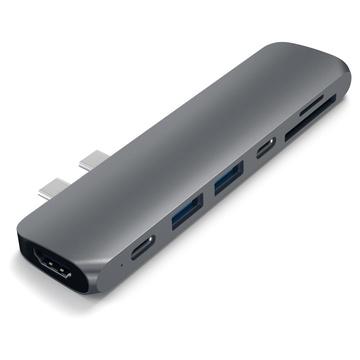 Satechi Adattatore in Alluminio Tipo-C HDMI 4K (60 Hz)