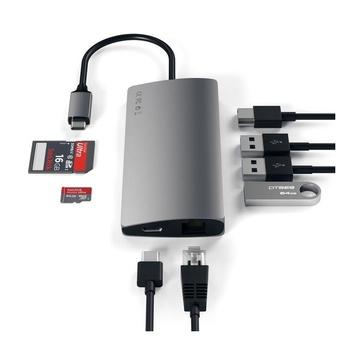 Satechi Adattatore Multiporta V2 Alluminio 4K HDMI (30 Hz)