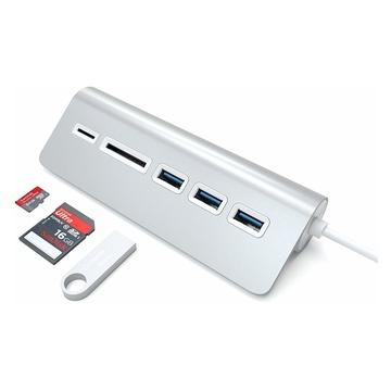 Satechi Hub USB 3.0 Con Card Reader