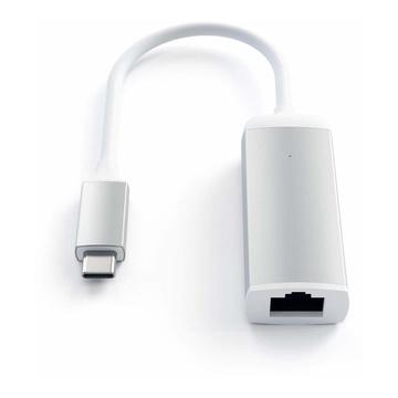 Satechi ST-TCENS USB Type-C RJ-45 Argento