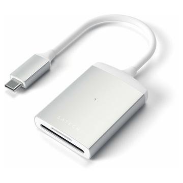Satechi ST-TCU3CRS lettore di schede Alluminio USB 2.0 Type-C