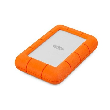 Seagate LAC301558 Rugged Mini 1000 GB Arancione, Argento