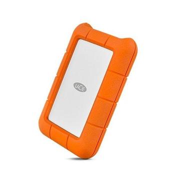 Seagate LaCie Rugged USB-C 1000 GB Arancione, Argento