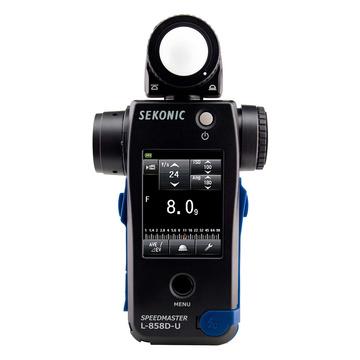 Sekonic L858D SpeedMaster con trasmettitore radio Elinchrom/Phottix