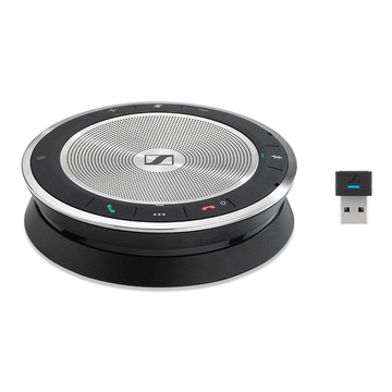 Sennheiser SP 30+ Vivavoce Universale Bluetooth Nero, Argento