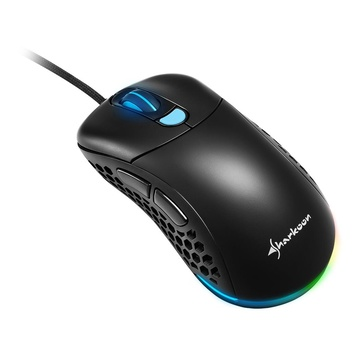 Sharkoon Light2 200 USB Ottico 16000 DPI Mano destra