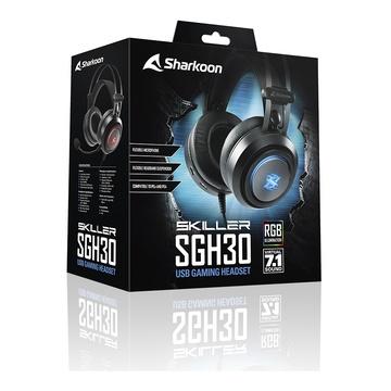 Sharkoon Skiller SGH30 Gaming RGB Virtual 7.1 USB