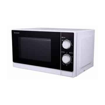 R-600WW forno a microonde Piano di lavoro Microonde combinato 20 L 800 W  Nero, Bianco