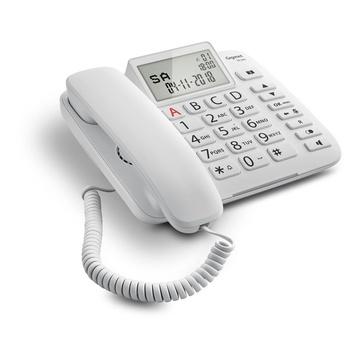 Siemens Gigaset DL380 Telefono analogico Bianco
