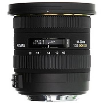 Sigma 10-20mm f/3.5 EX DC HSM Canon