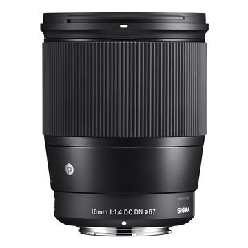 Sigma 16mm f/1.4 DC DN Contemporary Sony E-Mount